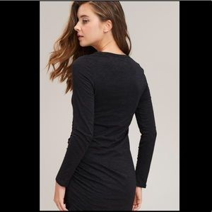 068c680c2e3 Arrays Dresses - NWT! Black Long Sleeve Ruched Dress by Arrays